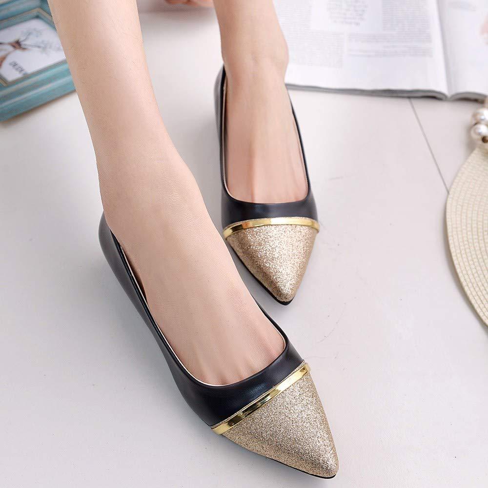 Zapatos planos para mujer bailarinas zapatillas suaves para mujer Alaso con punta puntiaguda informales zapatos para bodas y veladas
