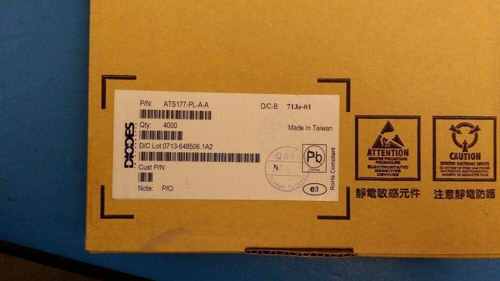 Diodes Inc ATS177-PL-A-A Magnetic Switch Latch 3.5V-20V 25MA 3SIP ROHS 50 PCS