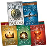George R. R. Martin Song of Ice and Fire 5 Books Collection Pack Set RRP: �60.96 (A Dance With Dragons (HardCover), A Storm of Swords, A Feast for Crows, A Clash of Kings, A Game of Thrones)by George R. R. Martin