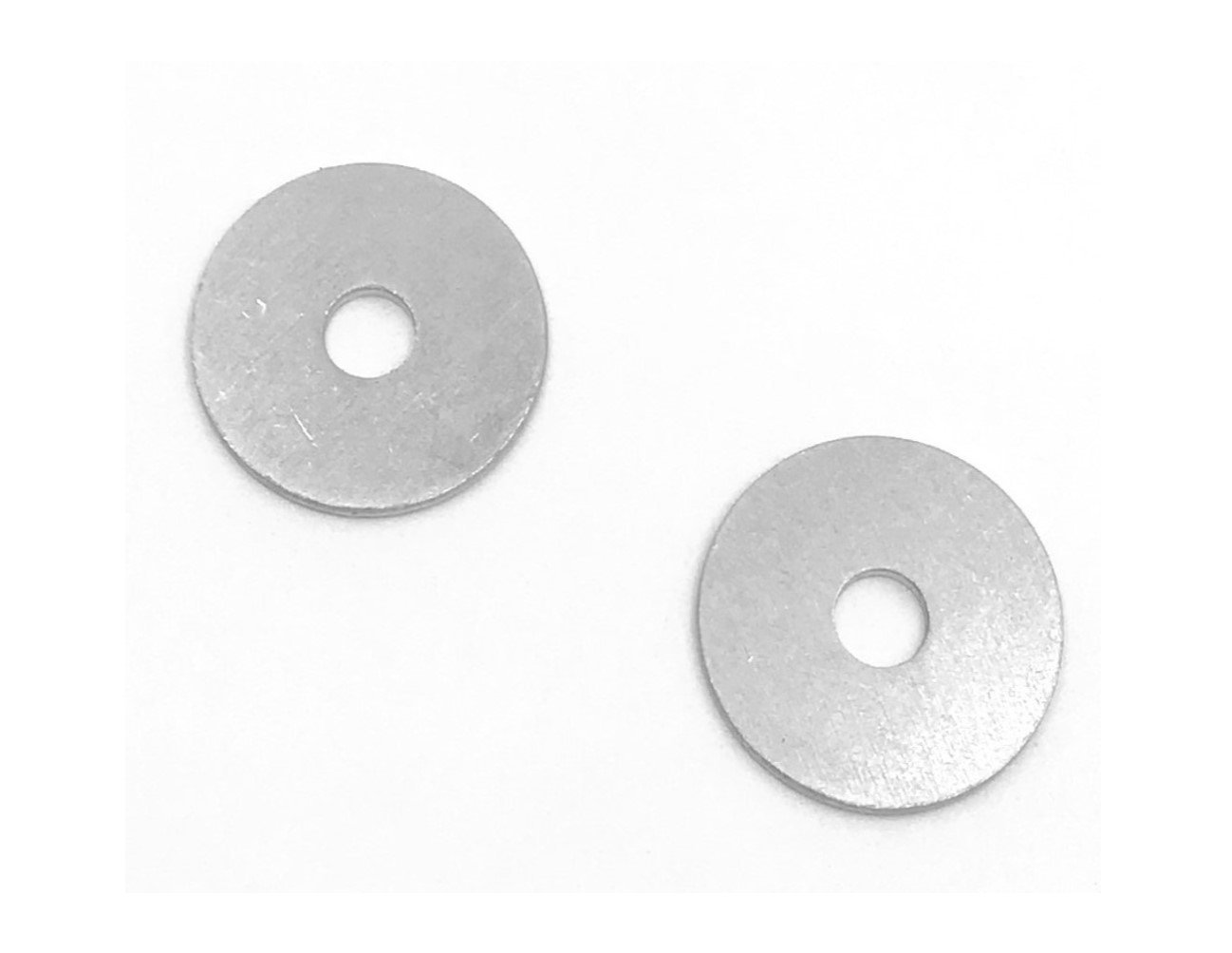 3/16'' x 3/4'' Flat Pan Washer Aluminum (Pack of 100)