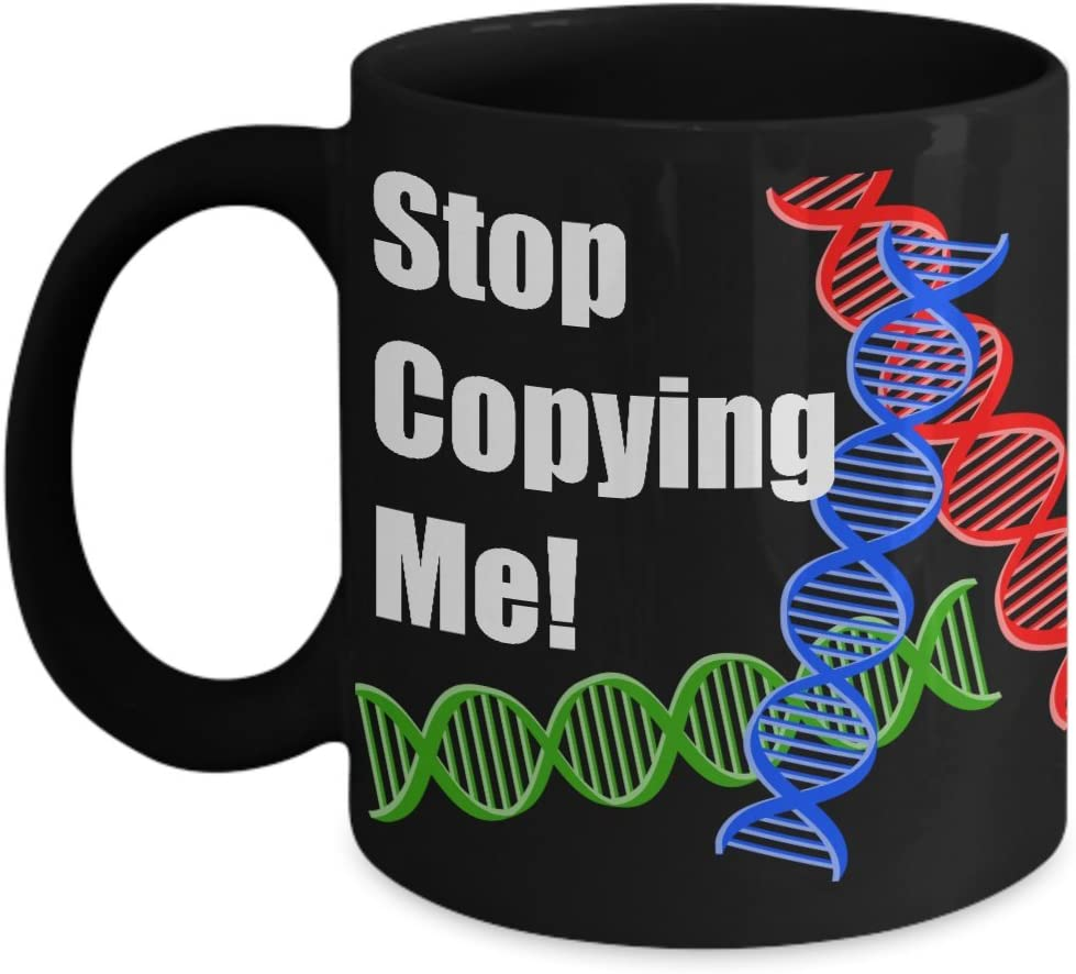 Amazon Com Dna Mug Gift Best Gift From Student To Biology Teacher Mugs Funny Forensic Science Gifts For The Mad Scientist Or Replication Geneticist Kitchen Dining