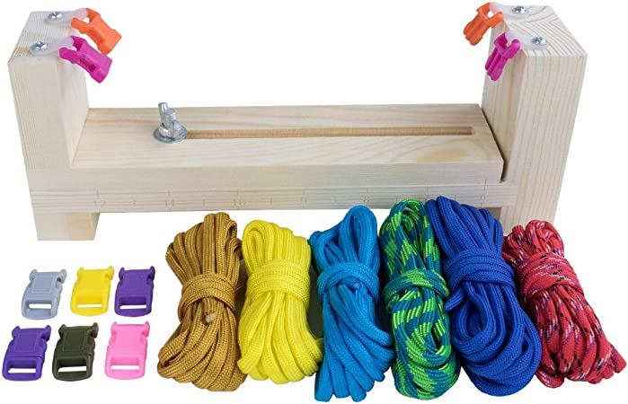 6PCS Durable Paracord Braiding Tools Weaving Needles Kit for Craft Home