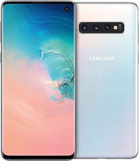 """Samsung Galaxy S10 - Smartphone de 6.1"""", Dual SIM, 128 GB, Blanco ..."""