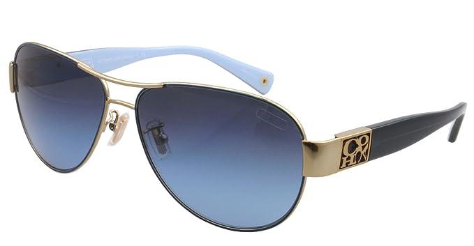 9d622b5796 promo code for coach charity hc7009q 905417 gold blue grey blue gradient  sunglasses 3aef7 043b3