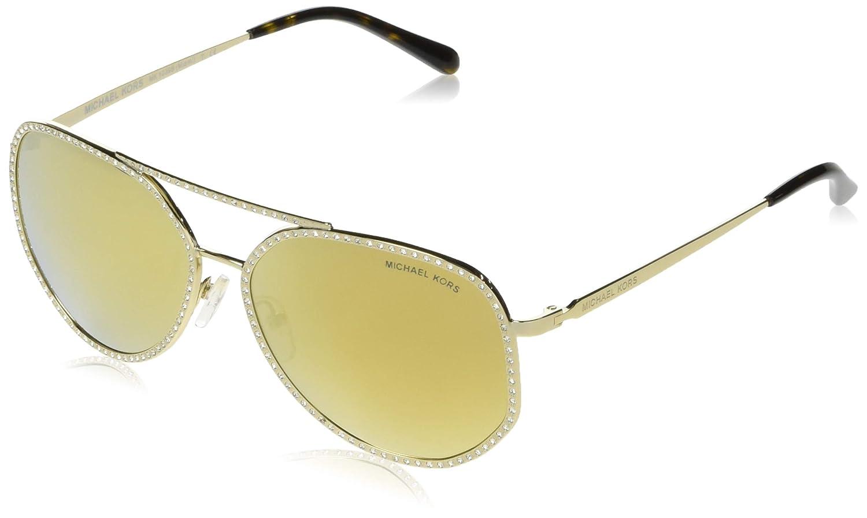 Amazon.com: Michael Kors MIAMI MK1039B 10147P-58 - Gafas de ...