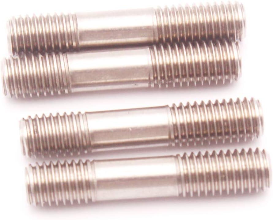 Gazechimp 4 x Edelstahl Bolzen Muttern M8 x1.25 Mit Flansch F/ür T25 T28 Turbolader