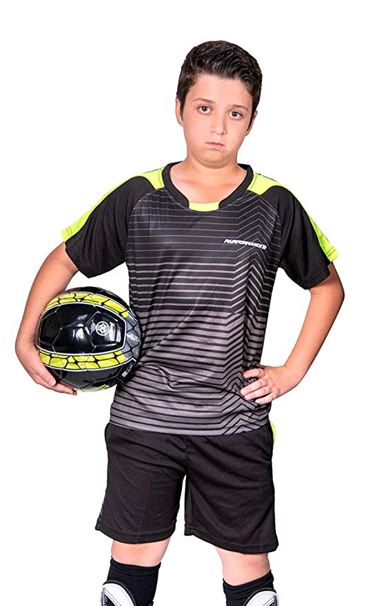 Amazon.com: Parforce - Conjunto de camiseta de fútbol para ...