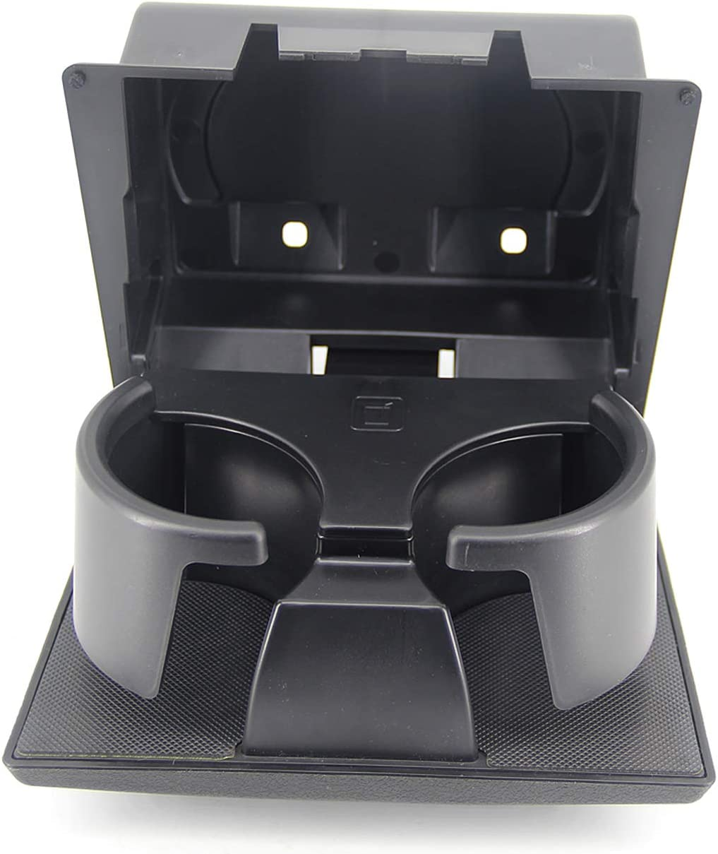 Black Replace 8C3Z2513562AF USTAR Dashboard Cup Holder for Ford F250 F350 F450 F550 Super Duty 2008-2016