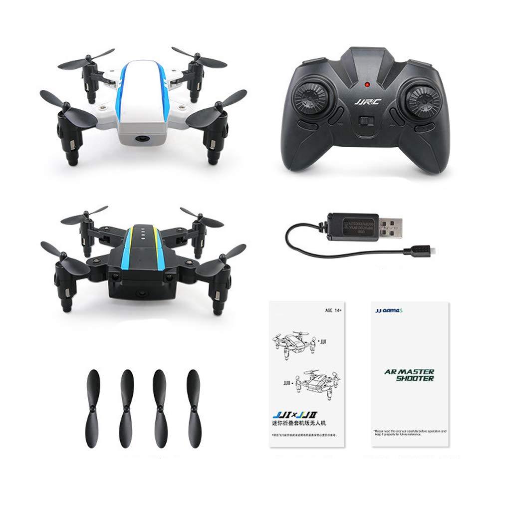 Drohnen Two Indoor-Drohne mit gyroskopischer gyroskopischer gyroskopischer Steuerung Wahl für Kinder und Anfänger Schwarz, Weiß 9bfe74