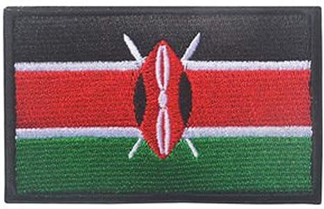 showplus África bandera Militar bordado parche de Velcro táctica moral hombro Applique: Amazon.es: Juguetes y juegos