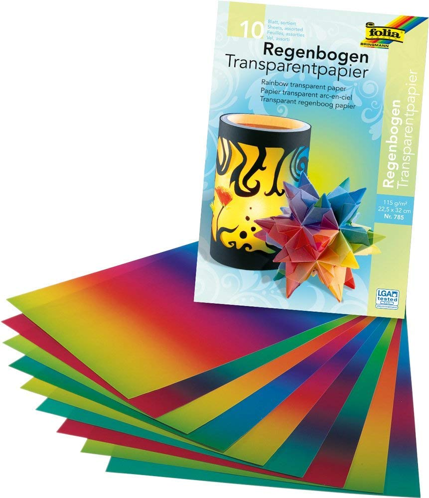 Folia 785 10feuilles papier créatif - Papiers créatifs (10 feuilles)