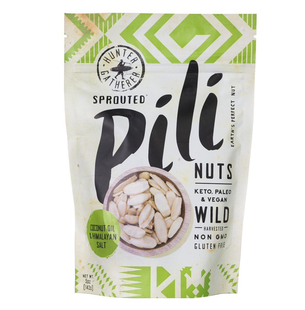Sprouted Pili Nuts Traditional Style with Coconut Oil 5 oz