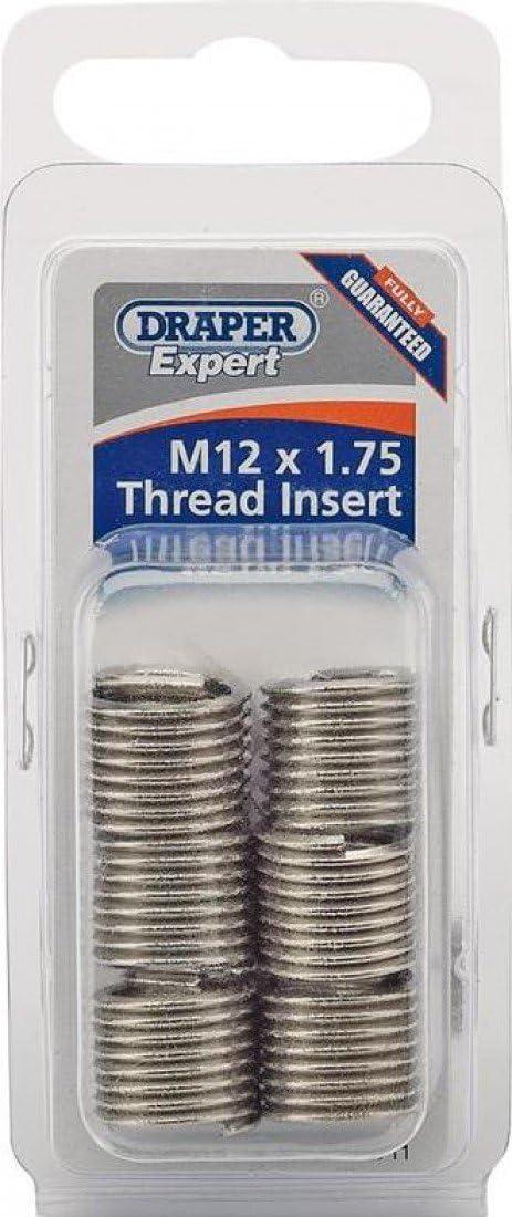 6 Draper Expert M12 x 1.75 Metric Thread Insert Refill Pack 21711
