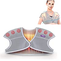TMISHION Almohadilla de Hombro autocalentable, Protector magnético Volver Tratamiento Unisex Terapia Ajustable Almohadilla magnética Alivio para el Dolor(M)