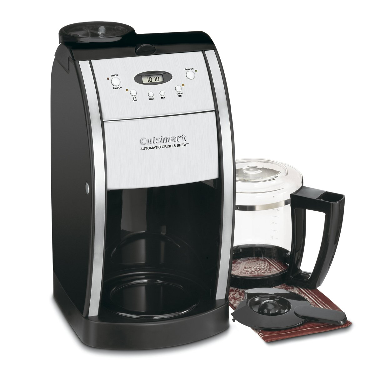 Cuisinart DGB-550BK 12 Cup Glass Carafe Programmable Coffeemaker Review