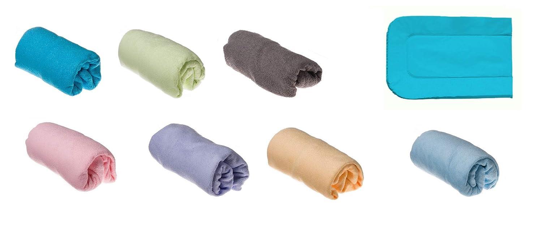 50 x 70//80 cm Baumwolle Easy Dort Pack 3 Bez/üge f/ür Wickelunterlage