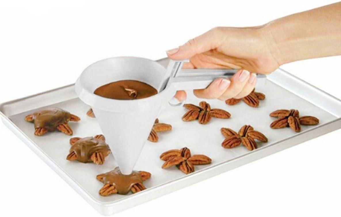 Strumenti di Imbuto per la Cottura a Mano Crema Pastella per Biscotti al Cioccolato Dispenser per Pasticceria Stampo per Biscotti Biscotti per Dolci