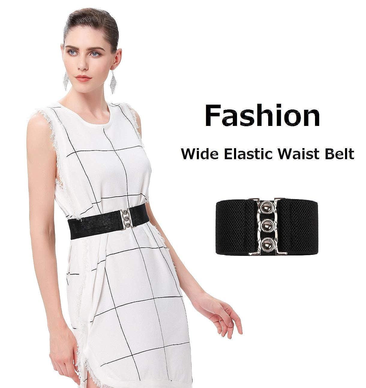079bd63957a Wide Elastic Waist Belt for Women