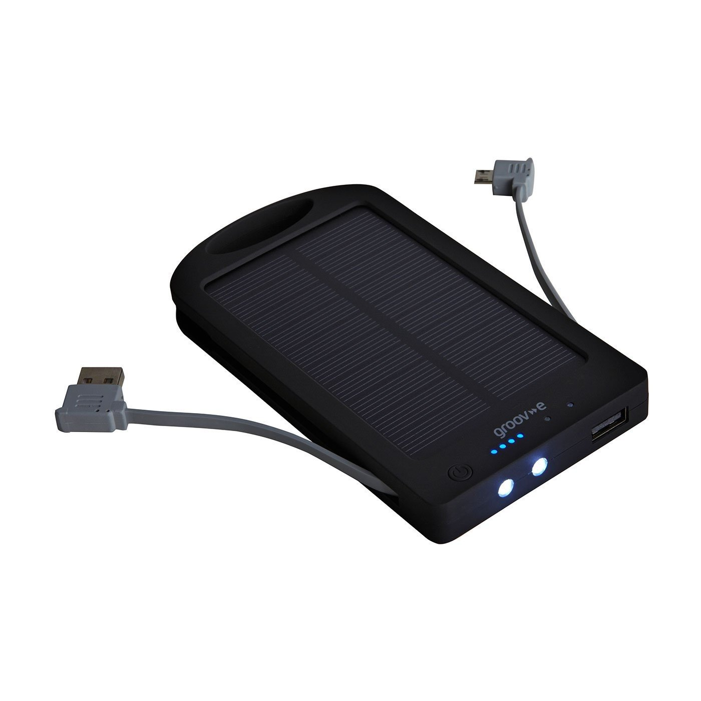 Groov-e GVCH6000S Portable Solar Bank Charger 6000mAh
