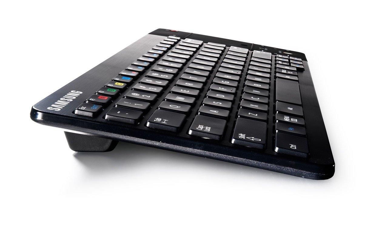 Samsung VG-KBD2500/ZA Bluetooth QWERTY US English Negro - Teclado (Bluetooth, Universal, QWERTY, Inglés de EE. UU, Inalámbrico, Batería): Amazon.es: ...