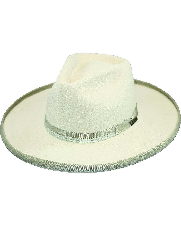 Larry Mahan Men's 4X Boise Silverbelly Hat Silver Belly 7 1/4
