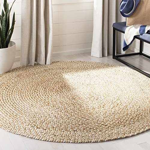 Safavieh Natural Fiber Collection NF804B Hand-woven Jute Area Rug
