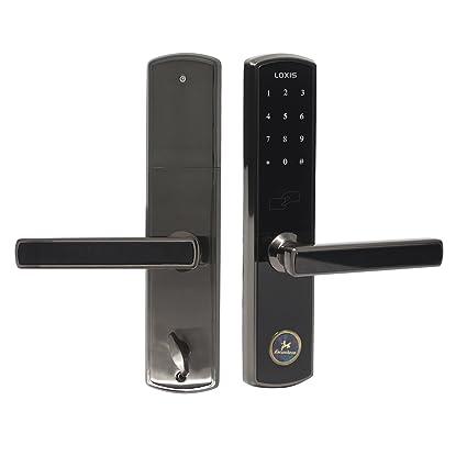 Probrico electrónico código cerradura de la puerta cerradura de puerta Digital desbloquear con mando a distancia