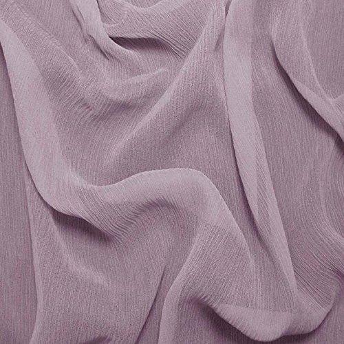 Silk Crinkle Chiffon Fabric - 1