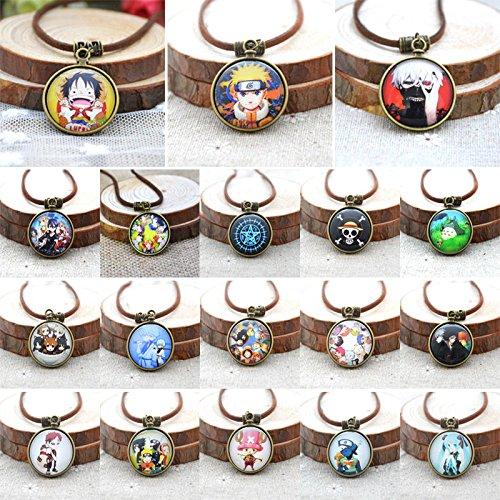 Pocket_Watch_Patteren_Sword_Art_Online_Tokyo_Ghoul_Luffy_Anime_Pendant_Necklaces JREEW# Necklace (Watch Onepiece Online)
