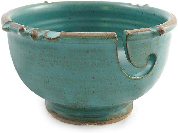 Lavender Anthony Stoneware Handmade Yarn Bowl