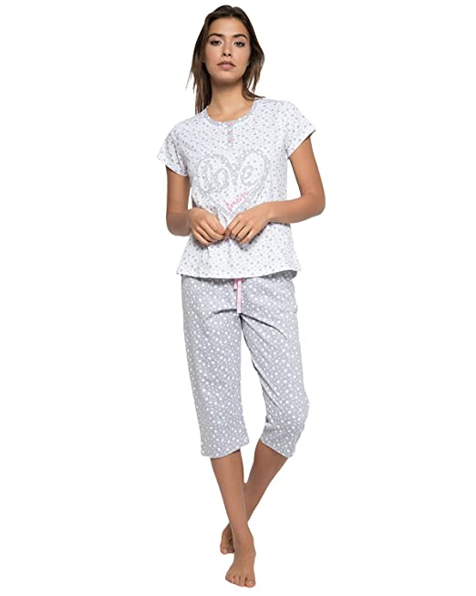 ADMAS - Pijama Pirata Mujer Mujer Color: Blanco Talla: S