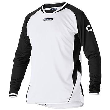 Stanno Porto del Hombres Manga Larga Camiseta de fútbol, Infantil, weiß-Schwarz-