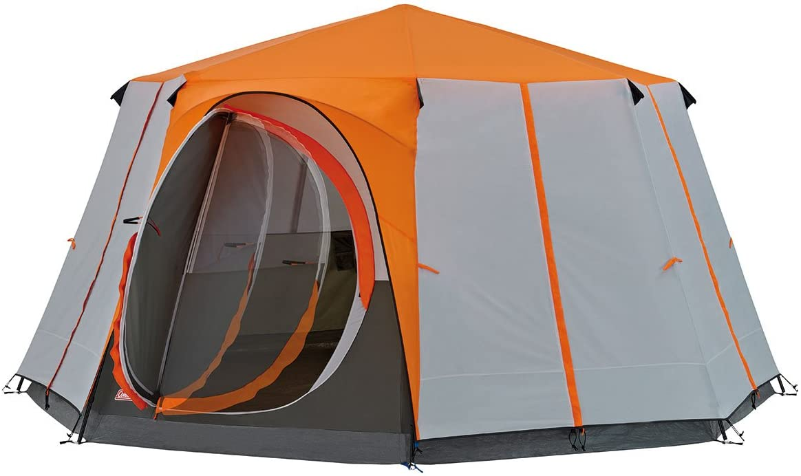 Coleman Tent Octagon, 6 to 8 Man Festival Dome Tent