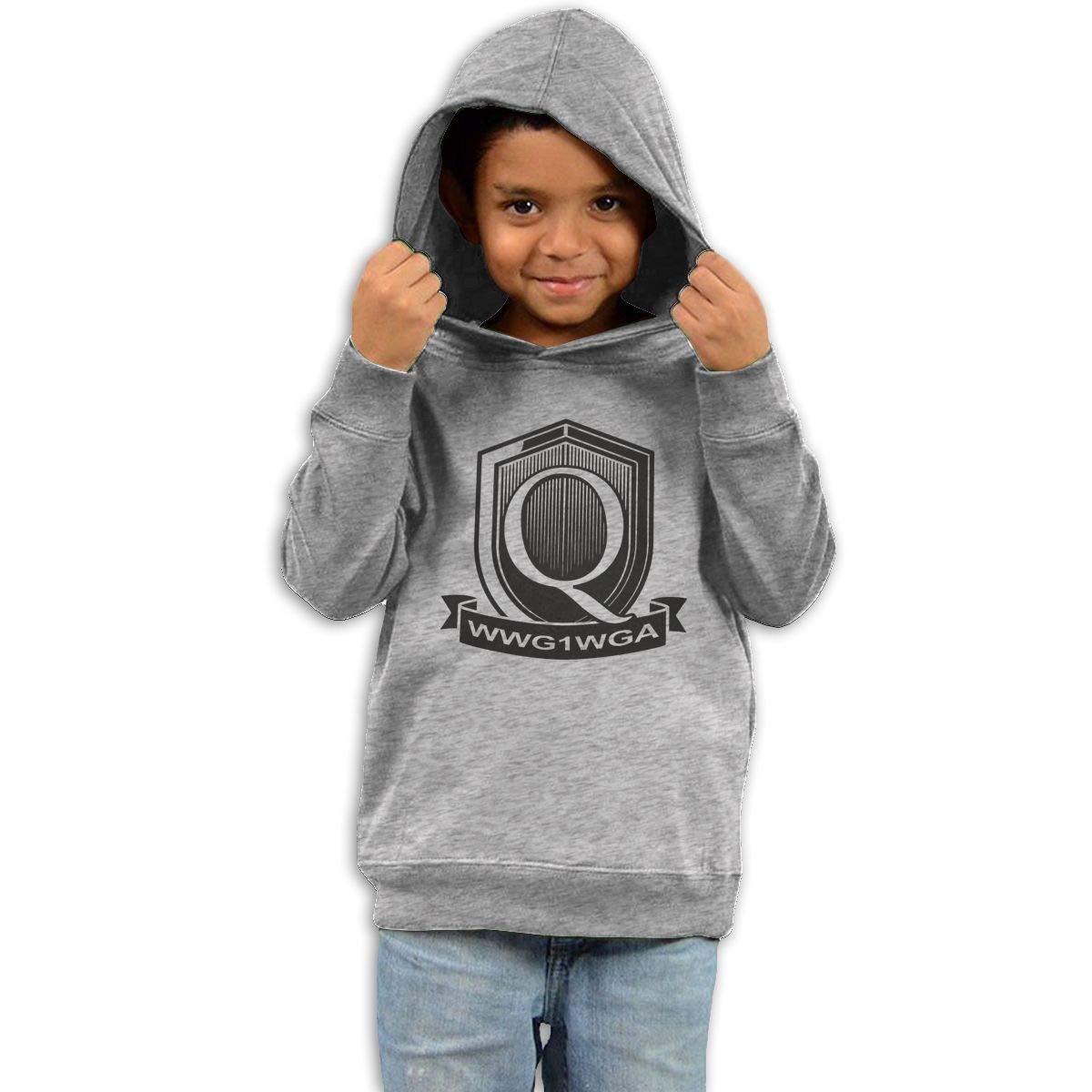 Stacy J. Payne Boys QAnon - Q Freedom Movement Funny Sweater39 Gray