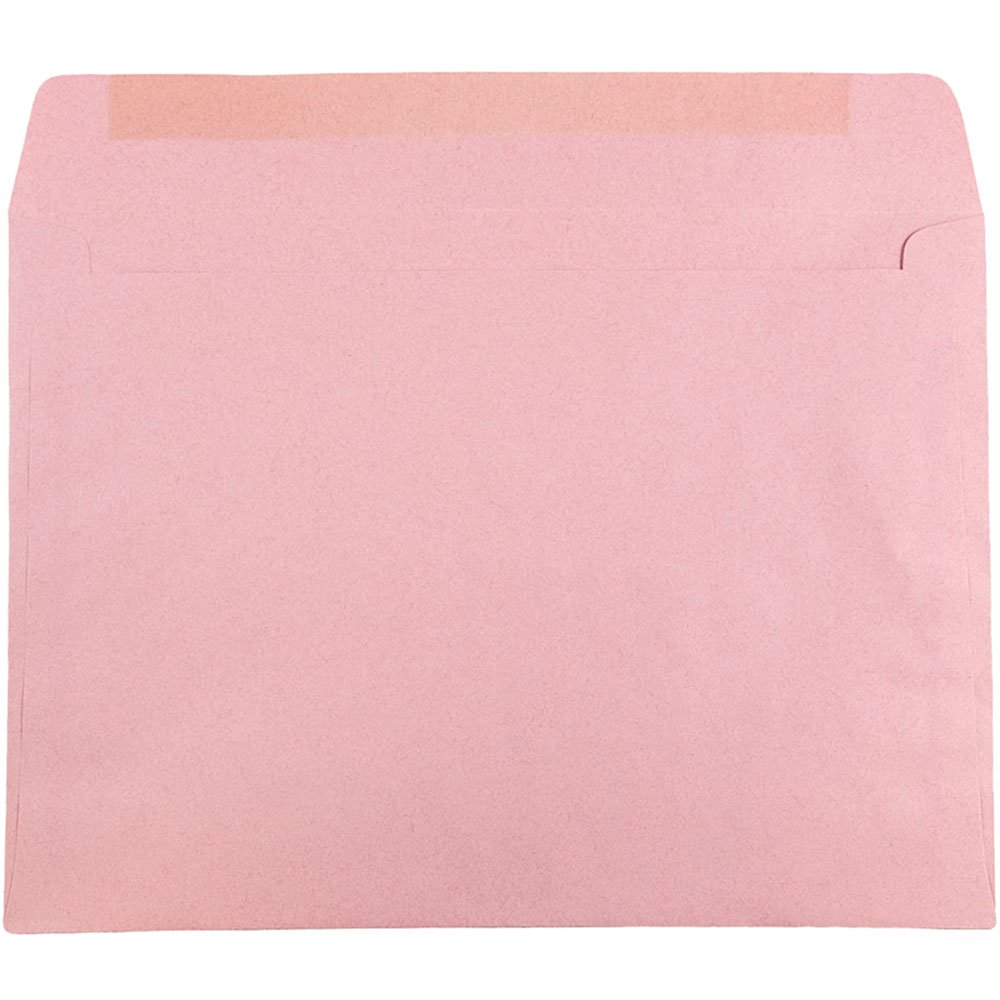 Baby Pink Pastel JAM PAPER 9 x 12 Booklet Champion Wove Envelopes 50//Pack