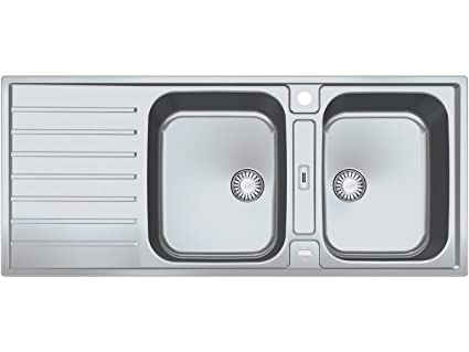 Vasca Da Cucina : Franke agx argos g g in acciaio inox doppia vasca da cucina