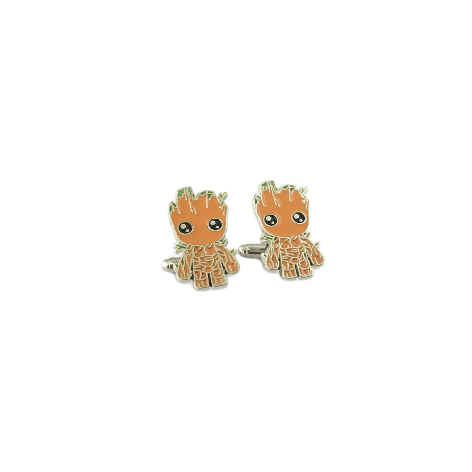 Athena Brand Movie Comics Marvel Guardians of the Galaxy Groot Cufflinks In Gift Box by Athena Brand (Image #1)