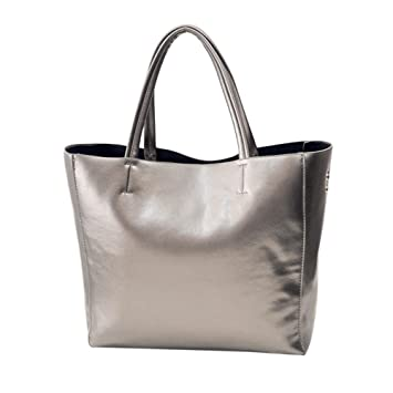 90e79b21aae303 Mode Umhängetasche Sunday Frauen Messenger Bag Schultertasche Handtasche  Totes Damen Elegant Reissverschluss Premium Kunstleder Shopper tasche