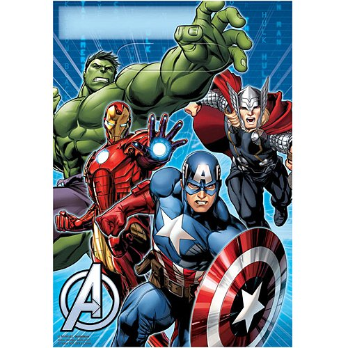 Marvel Avengers Treat Bags (8-Pack), Party