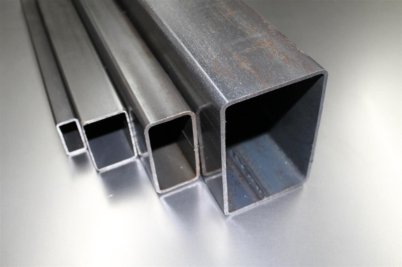 0//Tube de 5/mm flachkant ST37/noir brut Profil creux rohstahl galvanis/é B /& T m/étal en acier galvanis/é Tube rectangulaire 30/x 20/x 2,0/mm dans longueurs /à 1500/mm