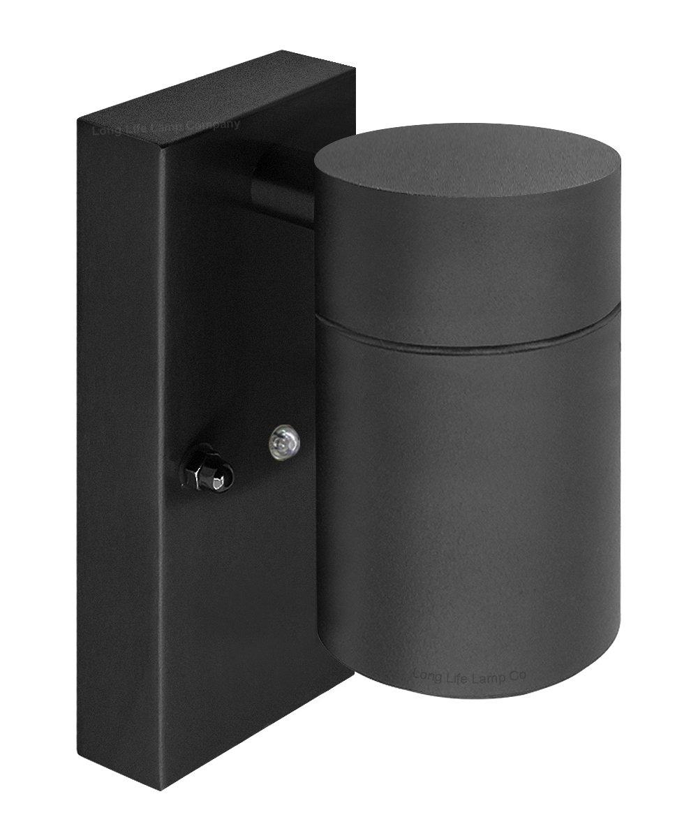Outdoor Wall Lights Dusk Till Dawn: Dusk Till Dawn Sensor BLACK Outdoor Single Wall Light