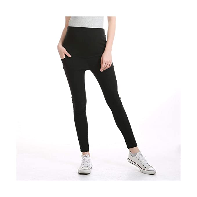 71af060b3b092 Image Unavailable. Image not available for. Color: Maternity Pencil Pants  for Pregnant Skinny Leg Pregnancy Clothes Maternity Clothes Clothing  Leggings