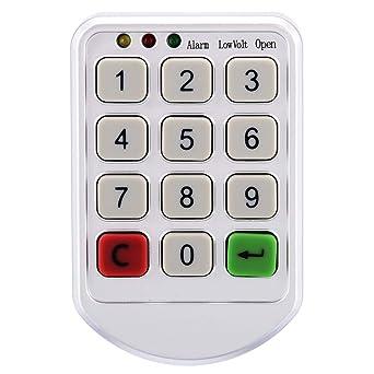 1 juego de cerradura electrónica digital con combinación de ...