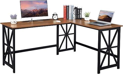 GreenForest L Shaped Desk - the best modern office desk for the money