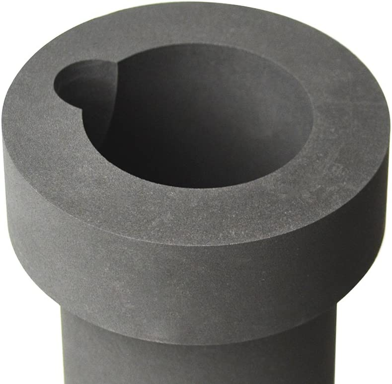 30 oz 1 Kg Electro-Melt Kerr Furnace Graphite Crucible w//Groove for Precious Metal Casting Refining Gold Melting