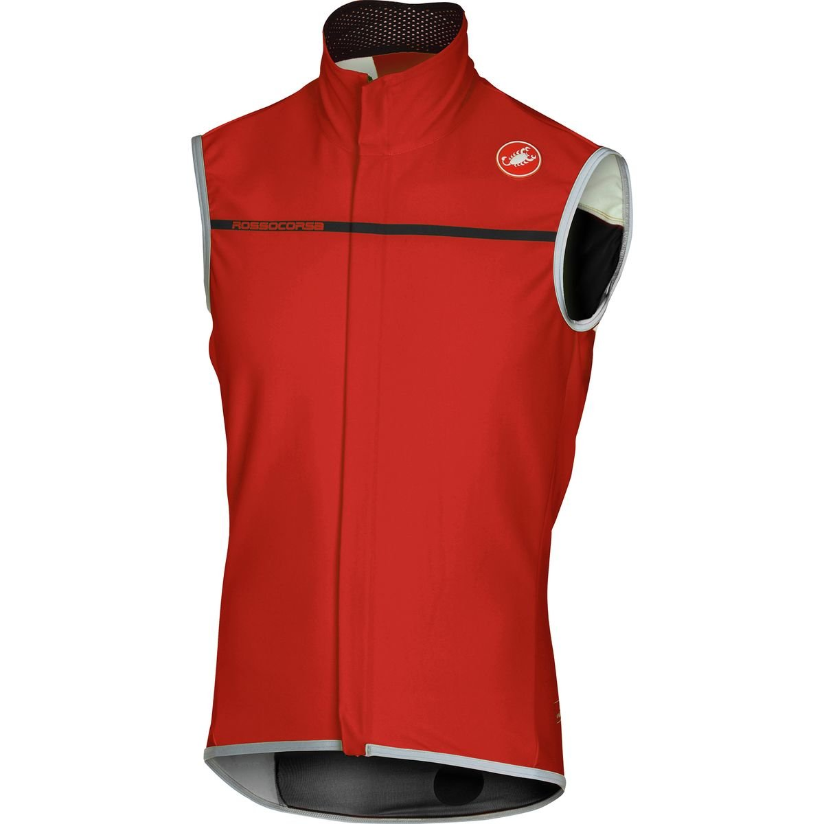 Castelli Perfetto Vest - Men's Red, L by Castelli