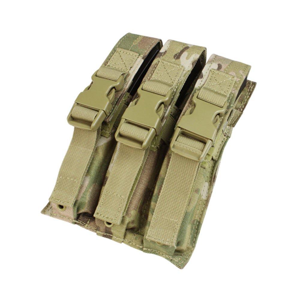 CONDOR MA37-008 Triple MP5 Mag Pouch MultiCam