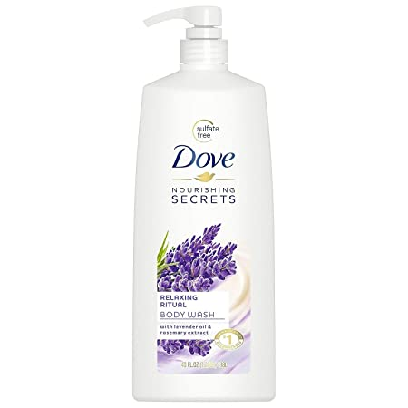 Dove Relaxing Ritual Body Wash, Lavender Oil Rosemary 40 fl. oz, pack of 1