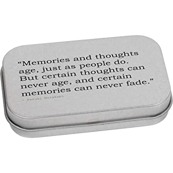 80mm Memories And Thoughts Age Just As People Do But Certain