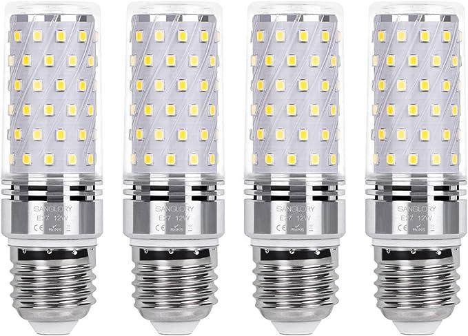 150 opinioni per SanGlory Lampadina LED E27 12W Equivalenti a 100W Incandescenza, Lampadine Mais